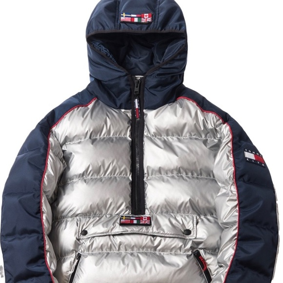 ff8228c8 Kith Jackets & Coats | X Tommy Hilfiger Puffer Jacket Silver Size M ...